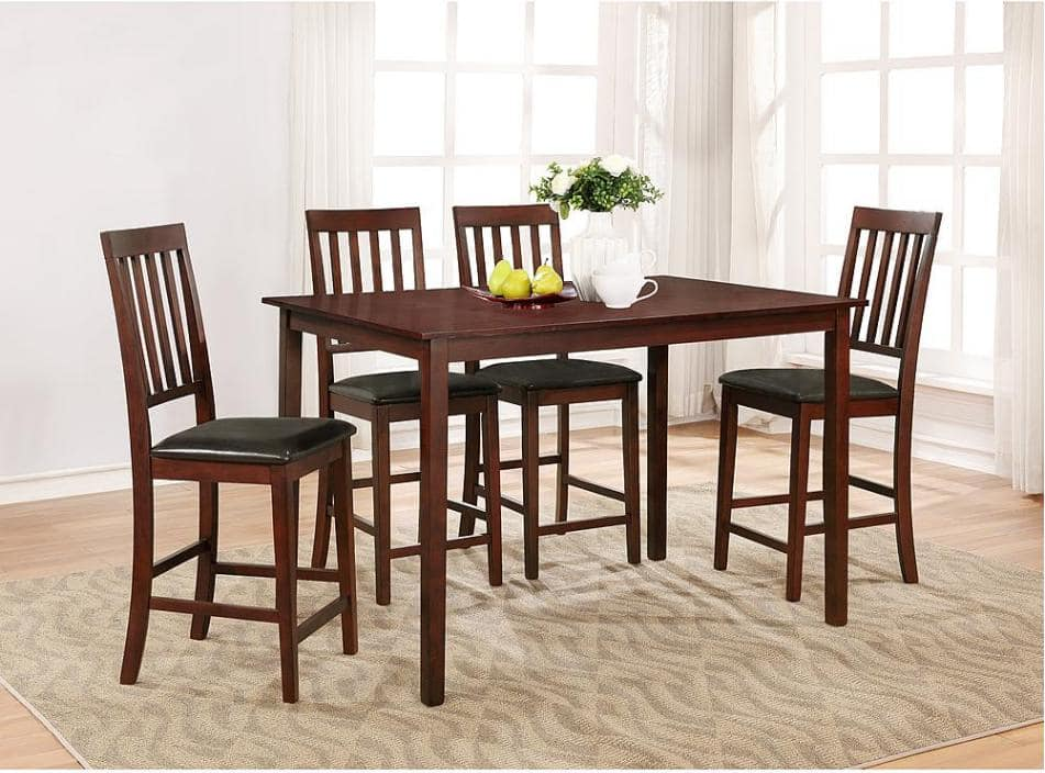 Good  Pc Essential Home Cayman Top Dining Set SYW Points Slickdeals net