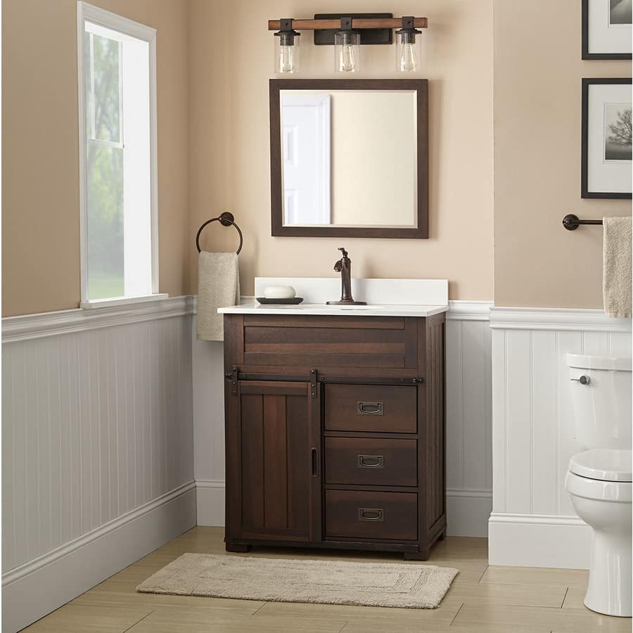 Inspirational Style Selections Bathroom Vanity w Tops or Vanity Slickdeals net