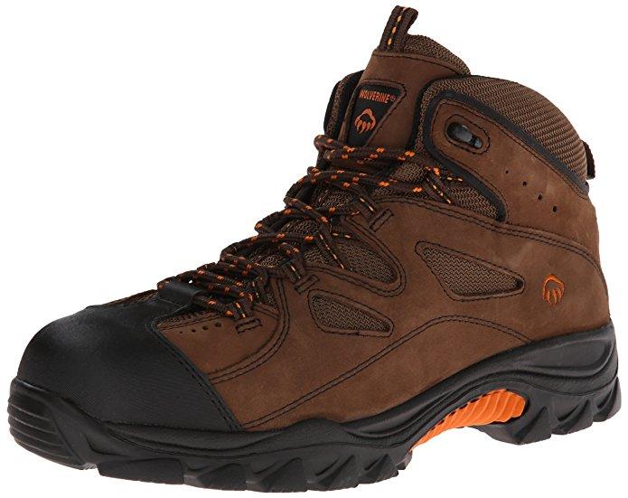 Men's Work/Safety Boots: Men's Wolverine Hudson Work Boot ...
