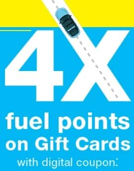 Kroger Digital Coupon: Earn 4x Fuel Points w/ Gift Cards ...