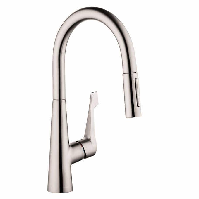 $150 Hansgrohe Talis M Pull Down Kitchen Faucet   Costco   Slickdeals.net