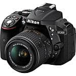 Nikon D5300 DSLR w/ 18-55mm f/3.5-5.6G VR II Lens (Refurbished) $489 + free shipping