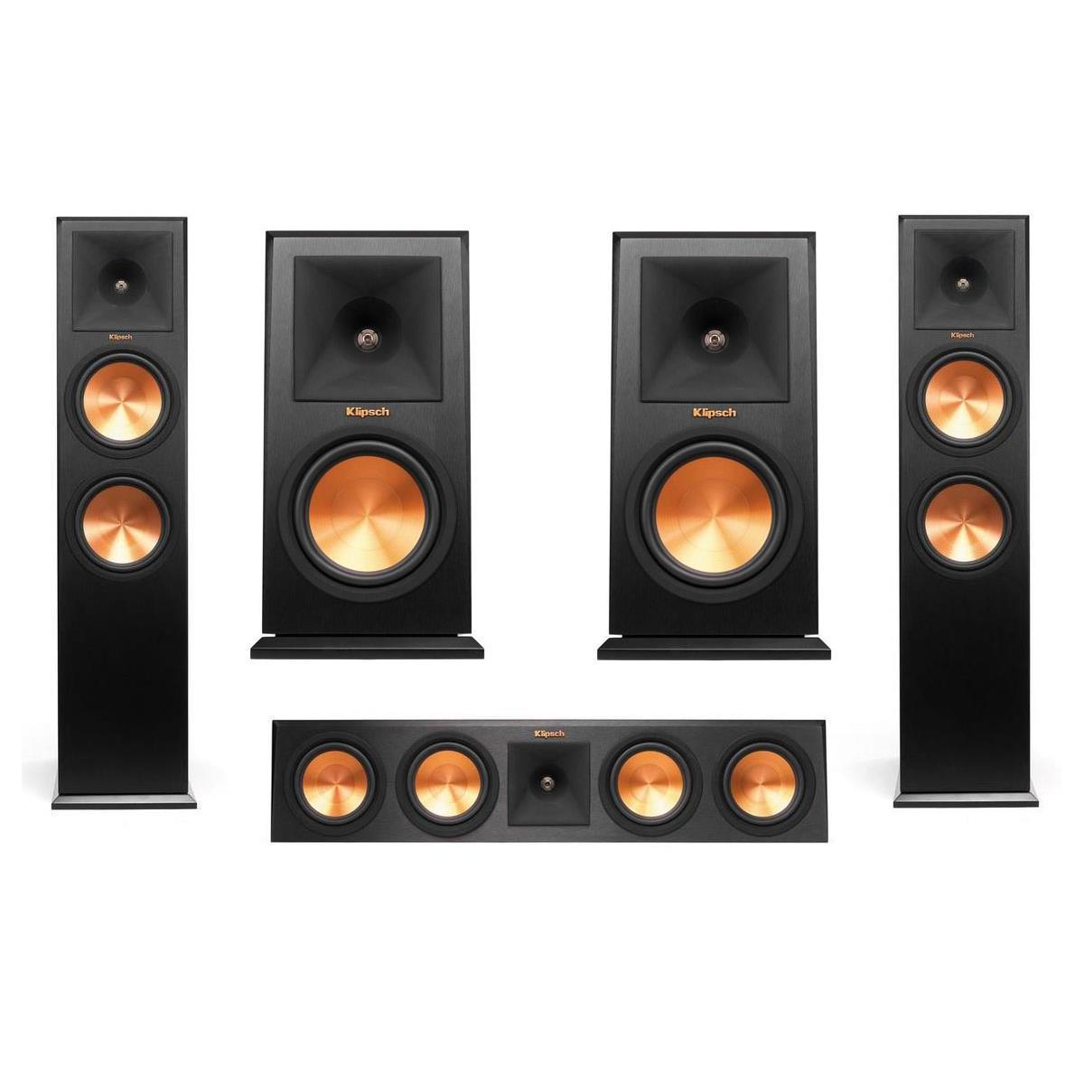 klipsch 280fa. klipsch 5 to 7 speaker bundles: rp-280f $1400, rf-7 ii w/ rc-64 center - slickdeals.net 280fa e