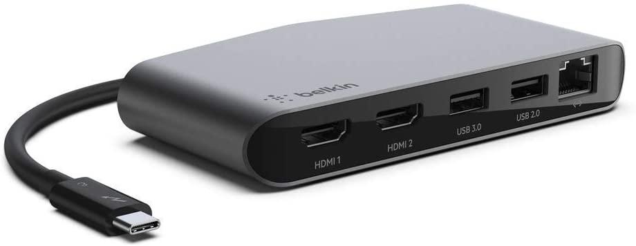 Belkin Thunderbolt 3 Dock Mini W/Thunderbolt 3 Cable ($44.23 w 20%discount@Amazon Warehouse) $35.4
