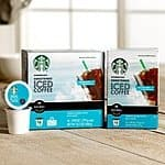 Target cartwheel Starbucks Keurig k-cup iced coffee 50% off plus $1.50 off coupon...$5.50 for 16 ct box