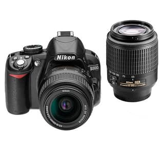 Walmart Deal: Nikon Black D3100 Digital SLR Camera with 14.2 Megapixels Kit, Includes 2 Lenses (VR Nikkor 18-55mm and 55-200mm)