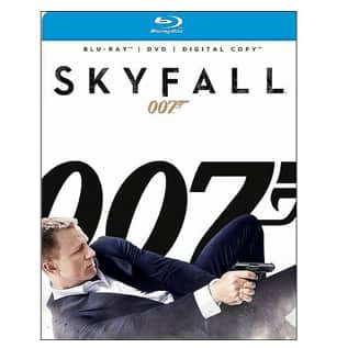 Walmart Deal: Skyfall (Blu-ray + DVD + Digital Copy) (Widescreen)