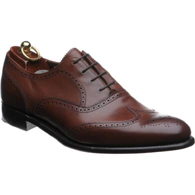 Brown Wingtip Brogue Men's Dress Shoe