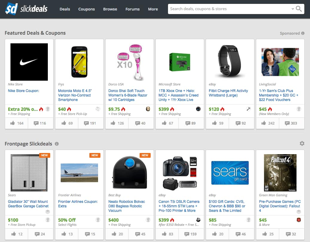 Slickdeals 101: Frontpage Deals and Popular Deals - Slickdeals.net