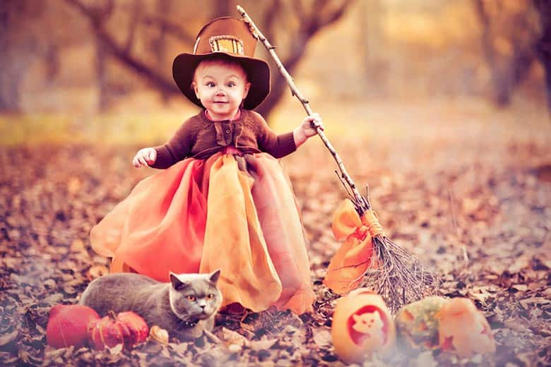 Kid in Halloween costume Kid in Halloween costume  sc 1 st  Slickdeals & How to Save Money on Halloween Costumes Candy and Decorations ...