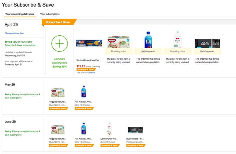 The Ins and Outs of Amazon Subscribe and Save - Slickdeals net