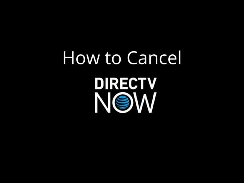 If you signed up for DirecTV Now just to get a free Apple TV or Fire Stick,  and for whatever reason don't want to keep your subscription, you can  cancel at ...