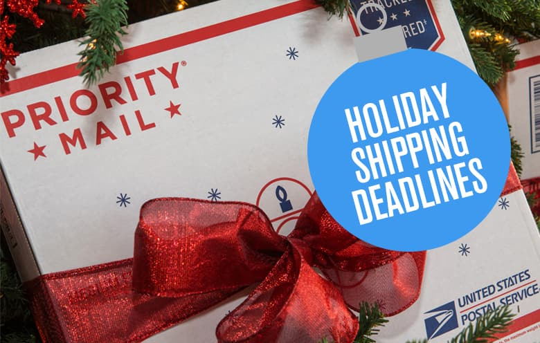 holiday shipping deadlines holiday shipping deadlines