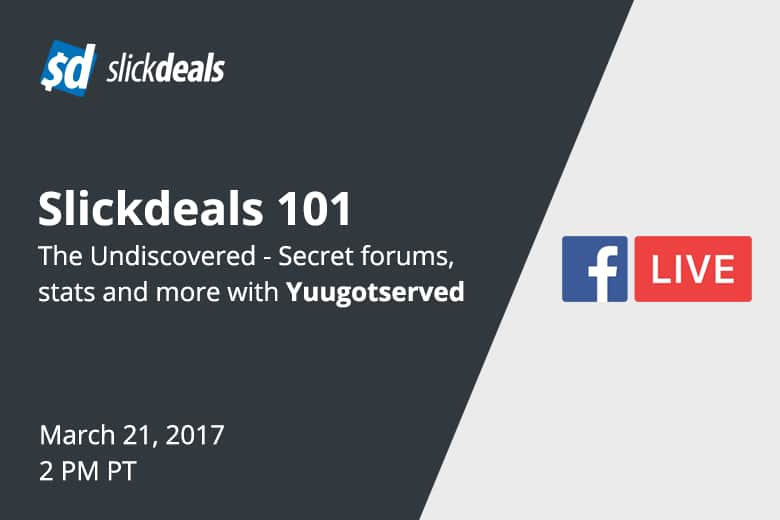 Slickdeals 101: The Undiscovered - Secret Forums, Stats and More ...