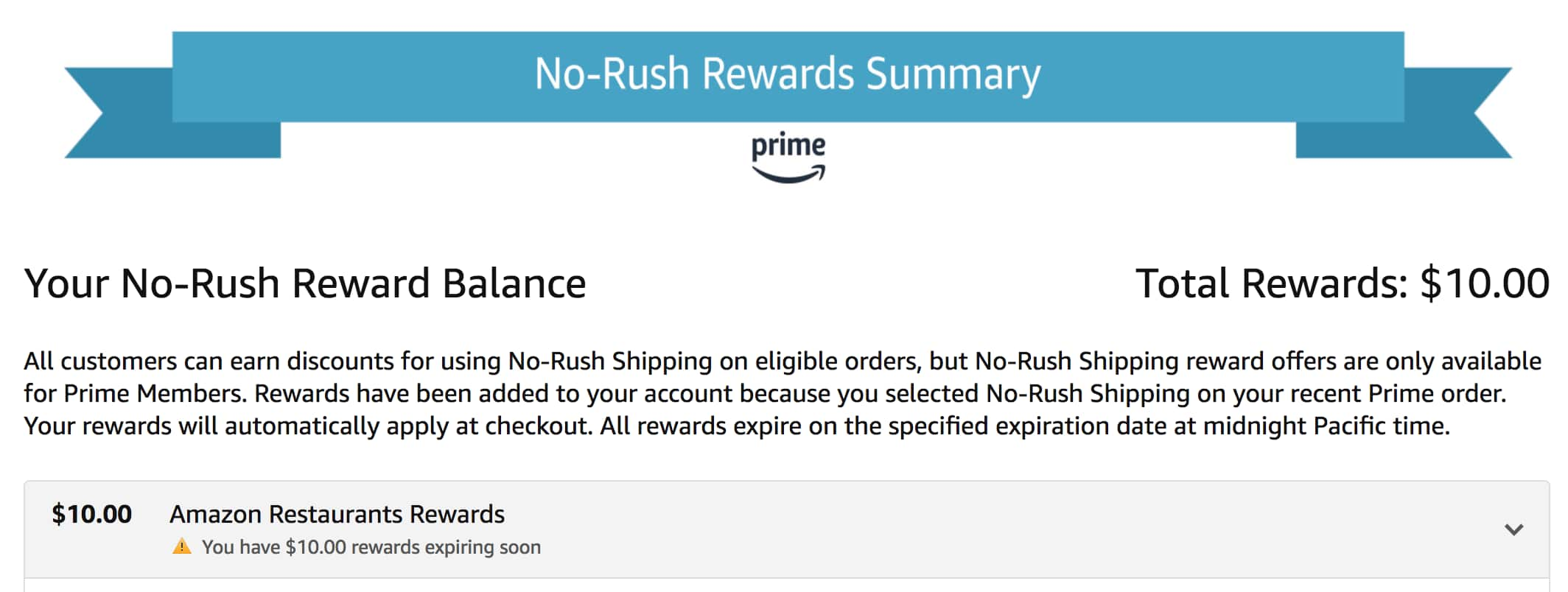 Getting the Most From Amazon's No-Rush Shipping Rewards - Slickdeals net