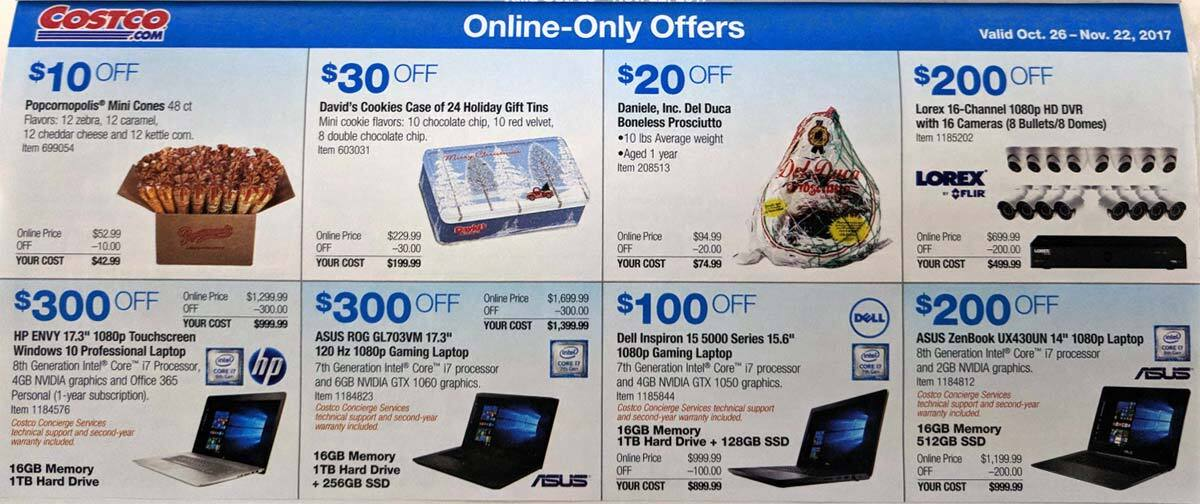 The Costco November Coupon Book is hitting mailboxes later next week and we have scored an early sneak peek once again. The offers are available in stores October 31st through November 26th. Thanks to our friends at the Costco Insider.