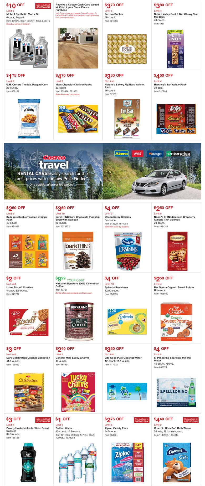 costco october 2017 coupon book slickdeals net