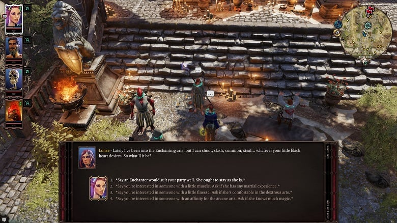 Divinity: Original Sin 2 Side Characters