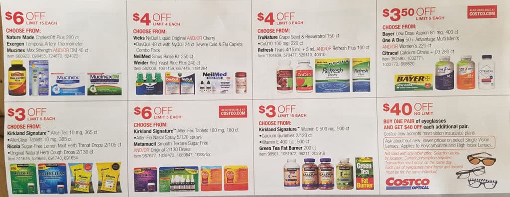 Costco warehouse coupons february 2018