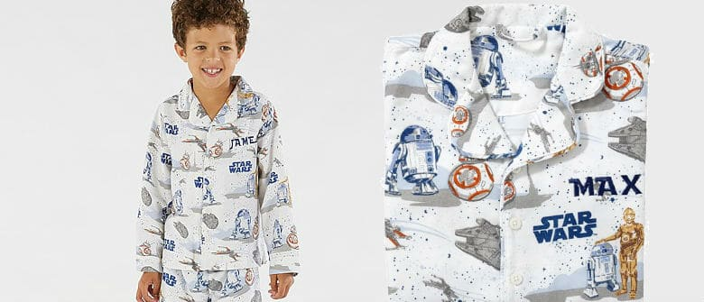 make sure the younglings are dressed their best this christmas morning in these star wars themed pajamas the pajamas feature some amazing artwork of the - Star Wars Christmas Pajamas