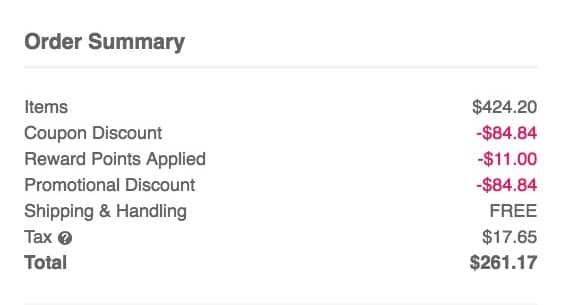 Using This Method Allowed Me To Take 18068 Or 43 Off My Orders Subtotal And Thats Not Even Counting The Money I Saved On Discounted Items
