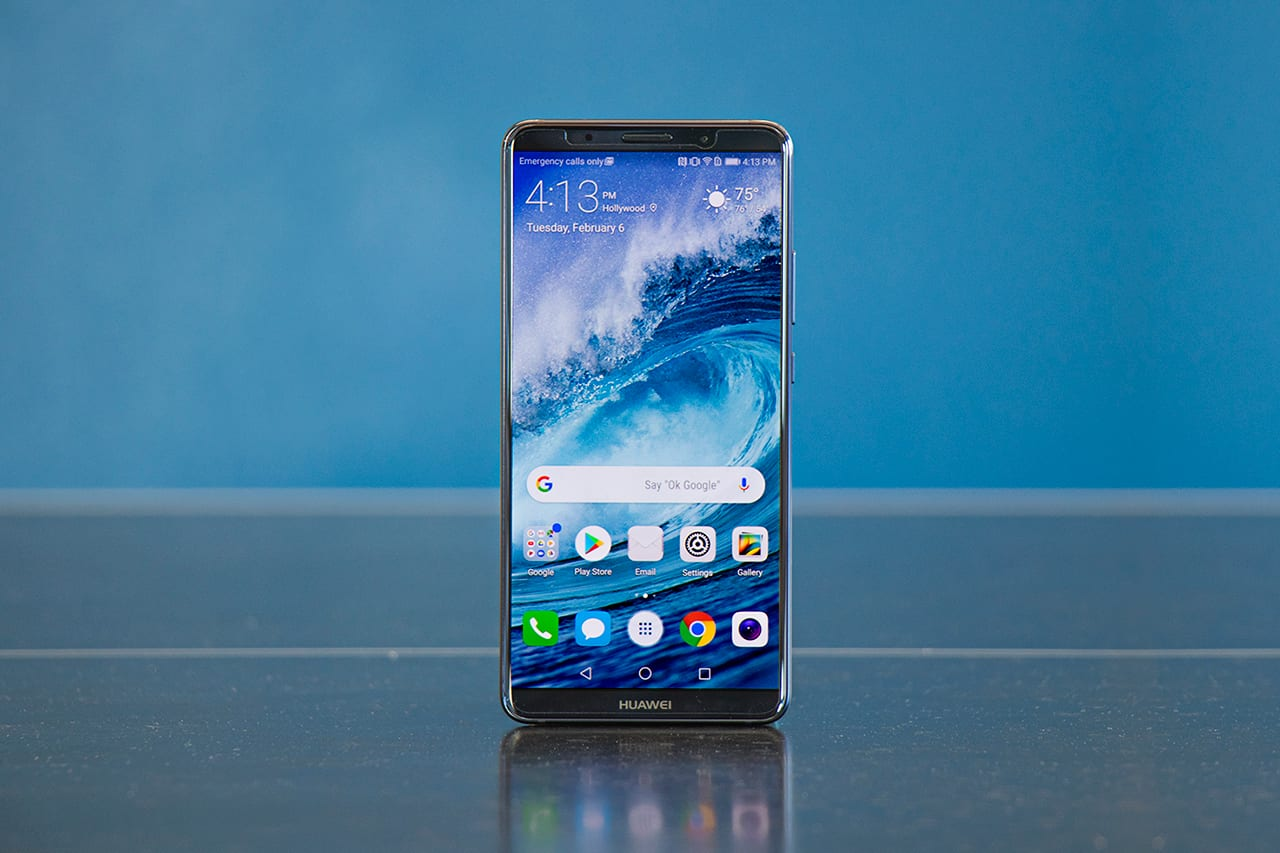 Huawei Mate 10 Pro smartphone front view
