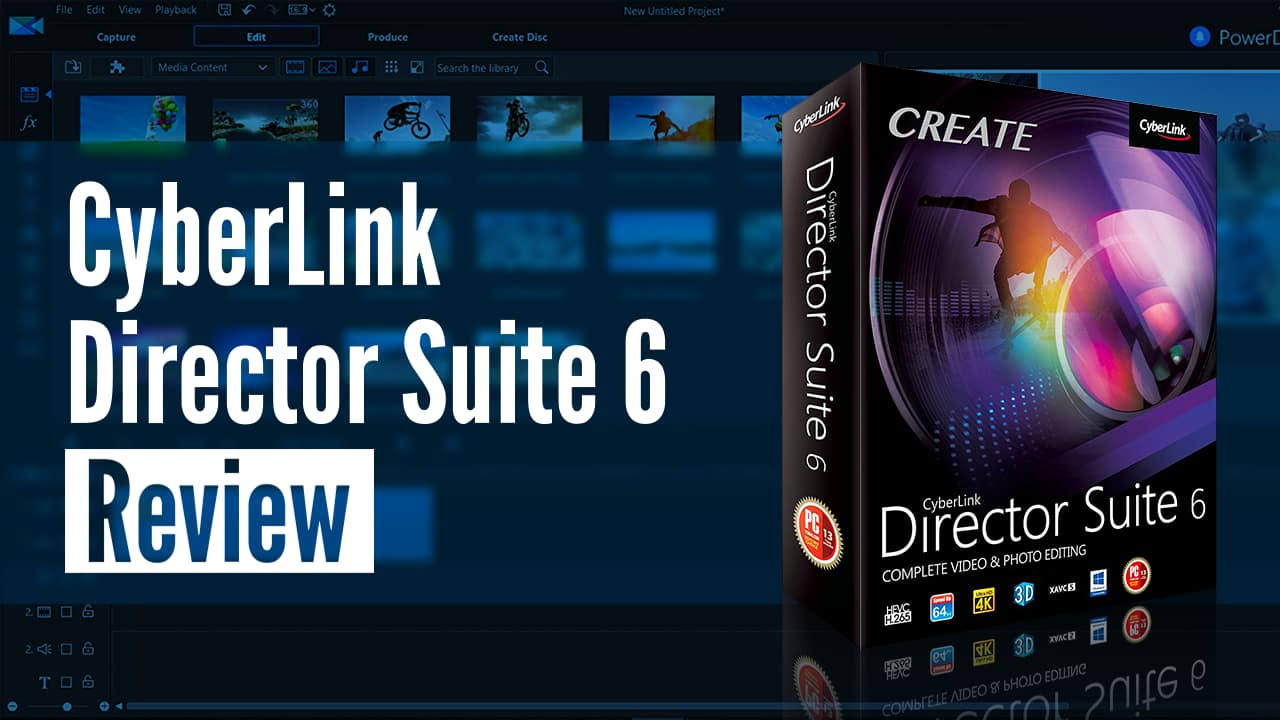 cyberlink director suite 6 review