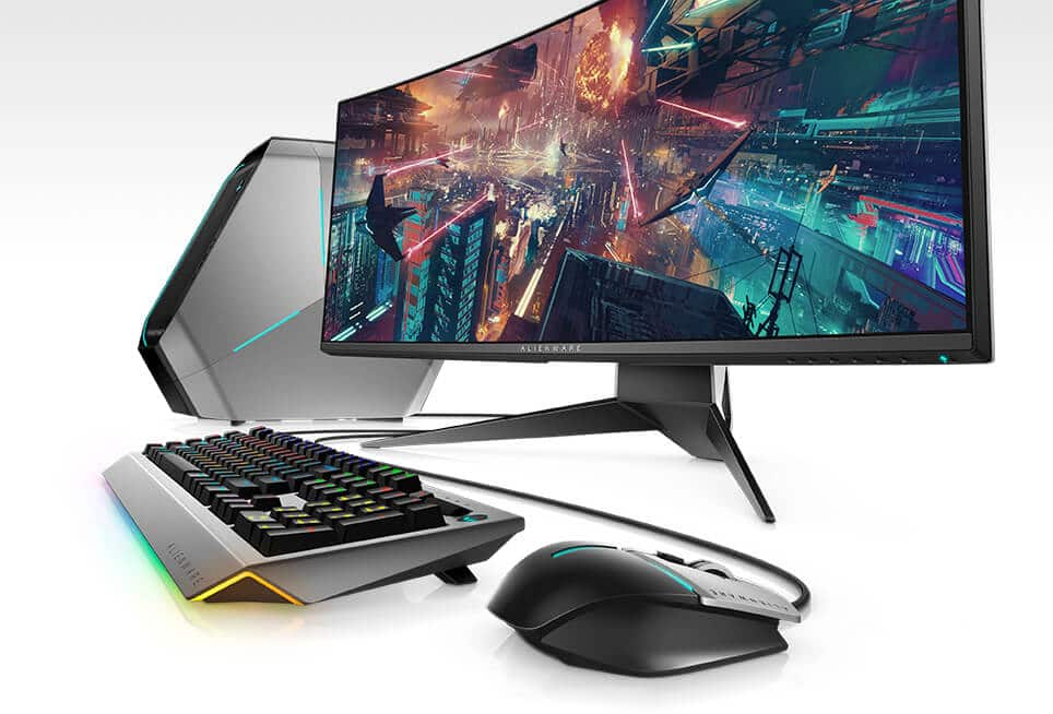 Alienware 34-inch Curved Gaming Monitor matching system