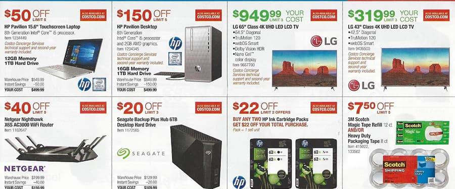 Costco July 2018 Coupon Book and Best Deals of the Month