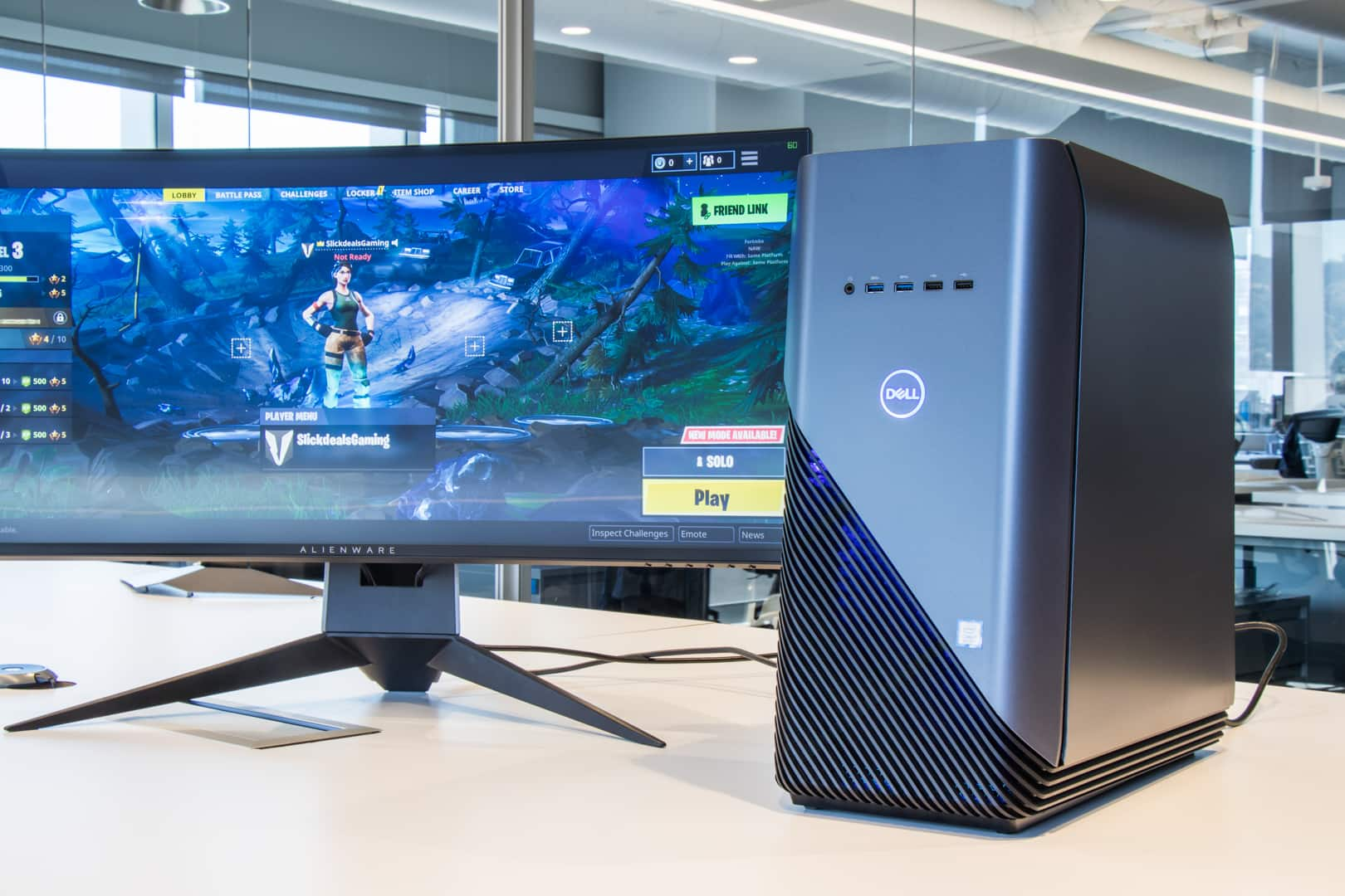 The Beauty Of Inspiron Gaming Desktop Is That It S Ready To Go Right Out Box There Nothing Setup Or Adjust Connect Your Monitor And