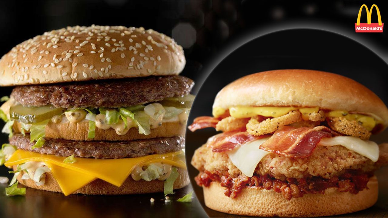 Now Until September 30th You Can Buy Any Premium Burger Or Chicken Sandwich At Mcdonalds For Just 1 Depending On Your Location Some Of These Items