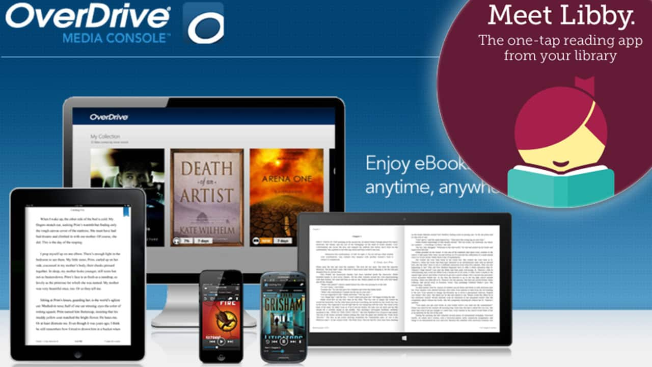 Enjoy Free Audiobooks and E-books with Overdrive and Libby