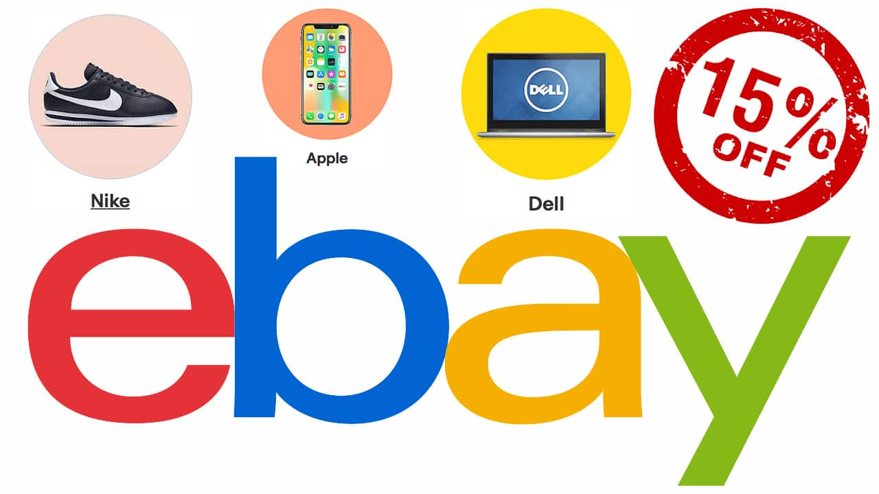 From 8 a.m. PT until 6:00 p.m. PT on September 27, eBay is offering a 15%  site wide discount on most purchases of $25 ...