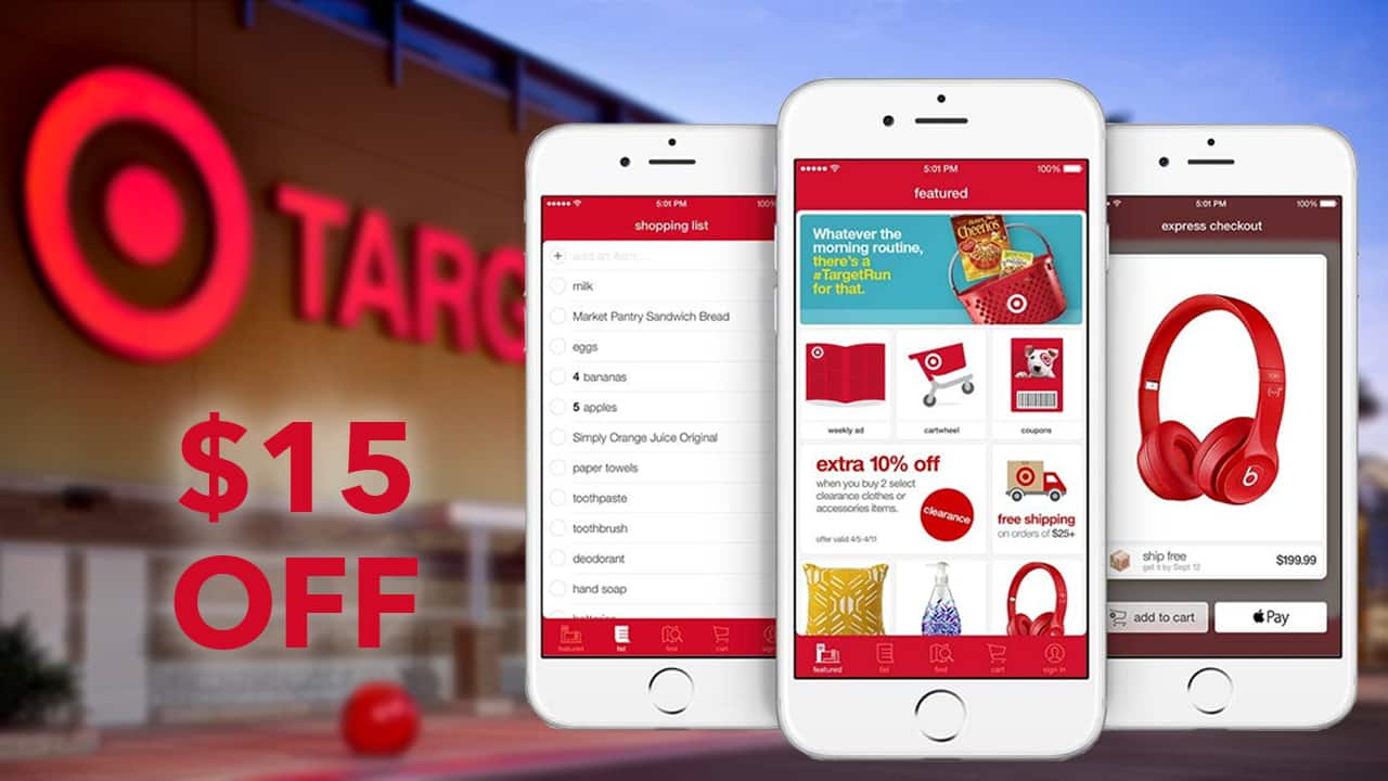 a new target coupon will be available from august 12 to 18 and its knocking 15 off select purchases the promotion is for its household essentials