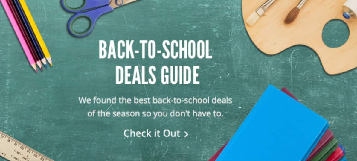 Back-to-School Deal Guide