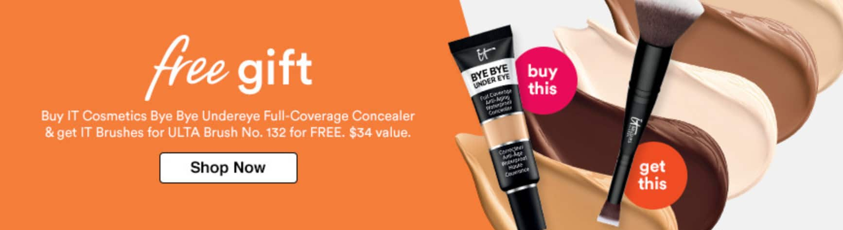 Free Gifts With Purchase IT Cosmetics ULTA