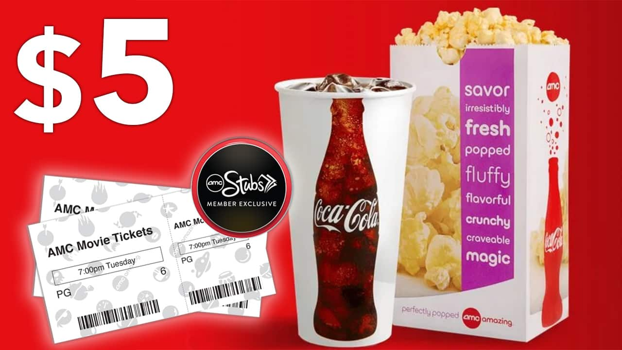 AMC Stubs Members Have Something New To Celebrate On Tuesdays As Part Of The Theater Chains Free Loyalty Program You Can Now Get A Popcorn And Coke Combo