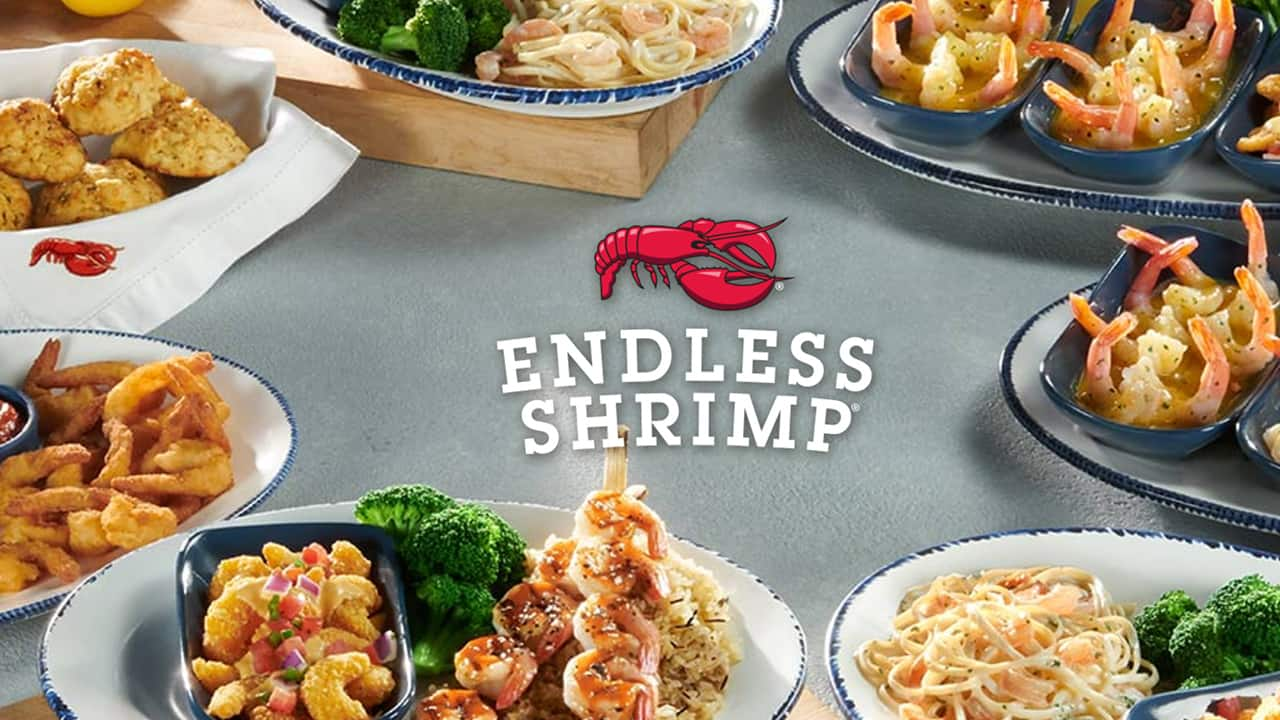 Red Lobsters new Endless Shrimp