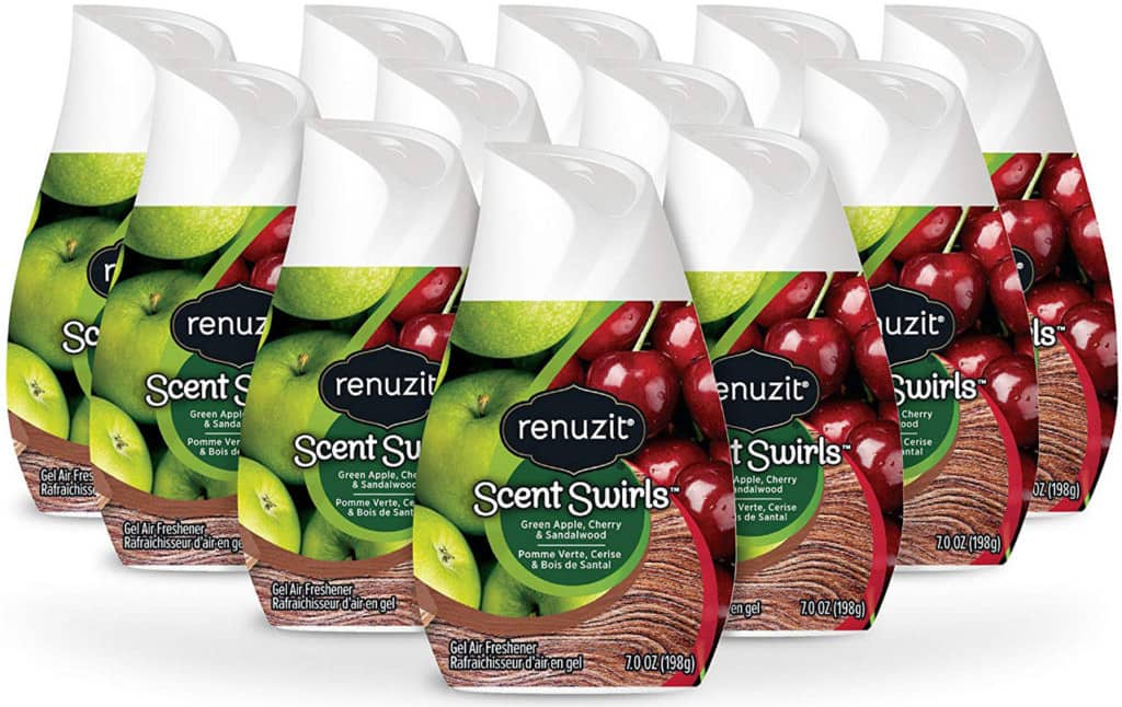 separation shoes b9419 aab54 This 12-pack of Renuzit Scent Swirls Air Freshener Gel (a mix of Green  Apple, Cherry and Sandalwood scents) is 50% cheaper than other bundles  currently ...