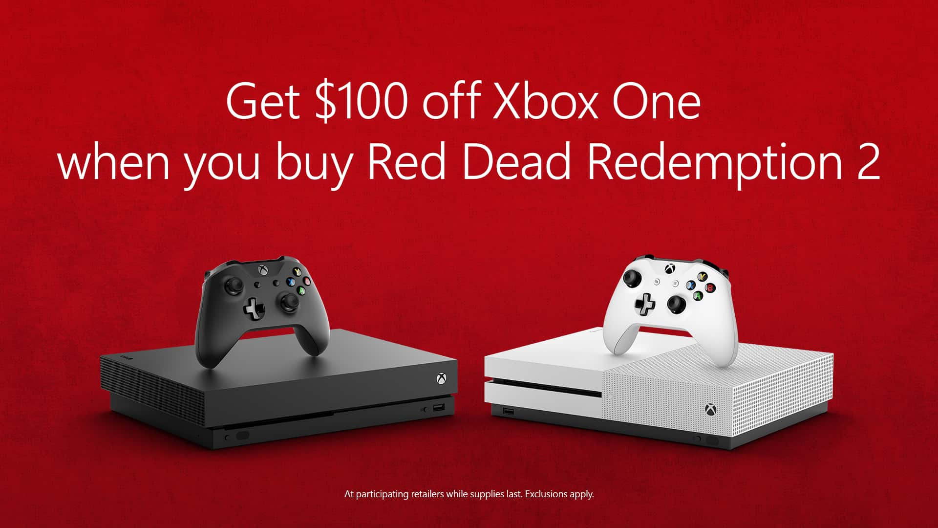 Xbox One Red Save $100 on an Xbox O...