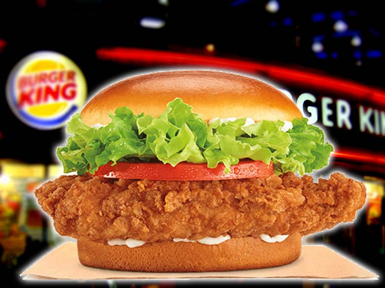 Burger King Has A 1 Crispy Chicken Sandwich Coupon Through Its App