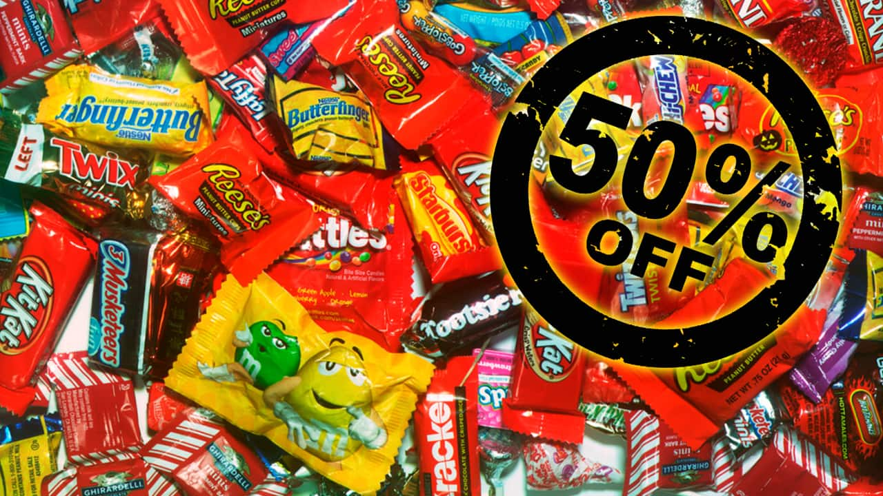 use this kroger halloween candy coupon to get 50% off
