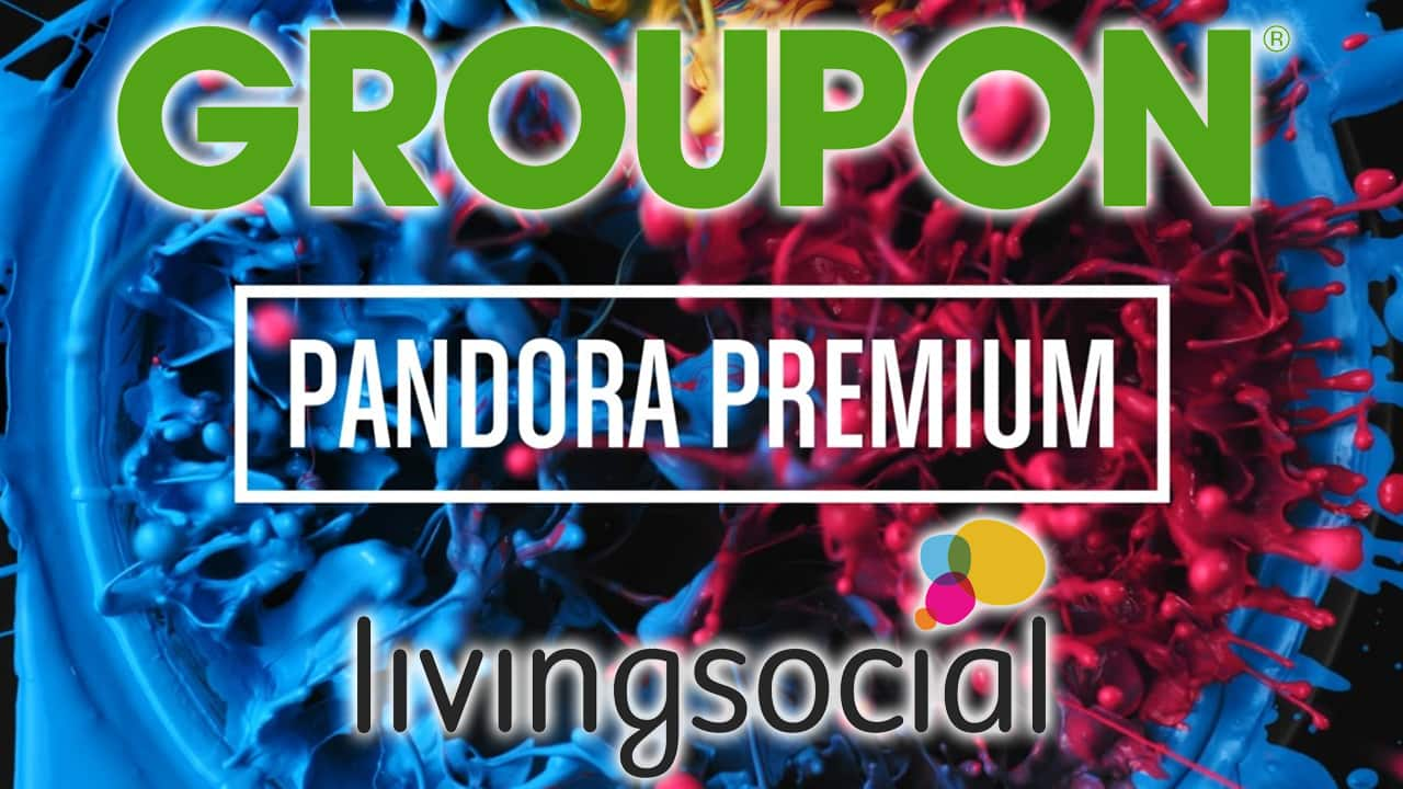 Groupon and Living Social are Offering a Free Trial of Pandora Premium