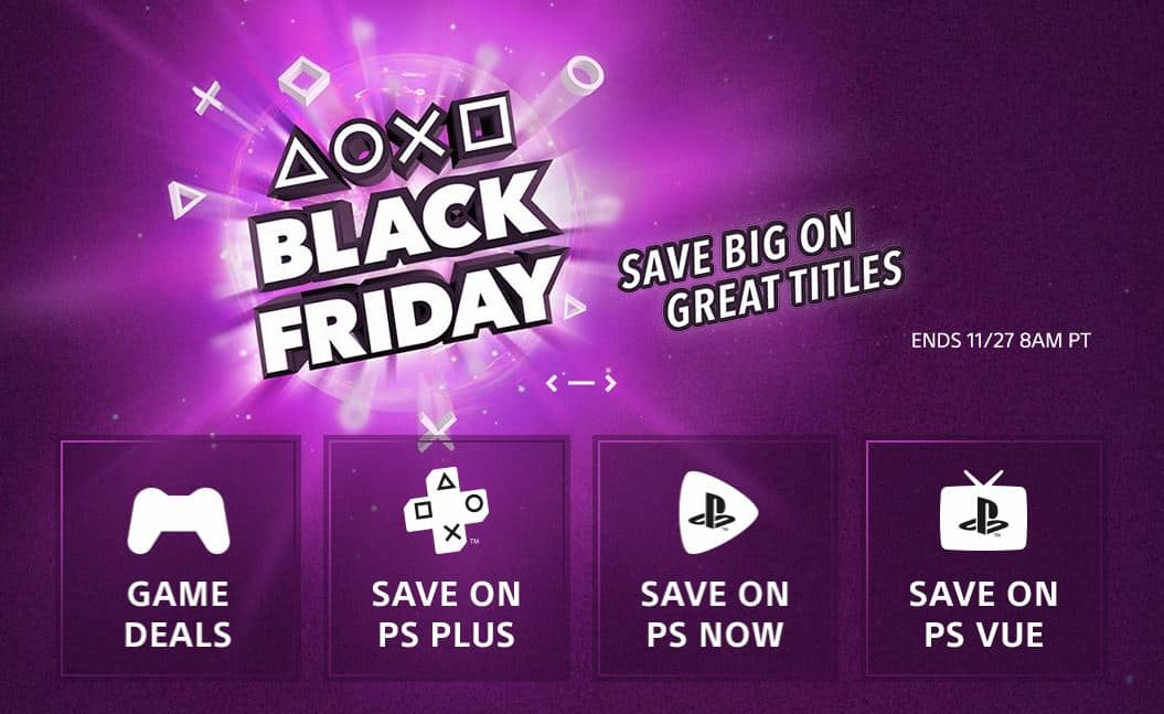 4721780aa48 The PlayStation Store is getting a head start on this year's Black Friday  by offering big discounts on a large selection of PlayStation 4 digital  download ...