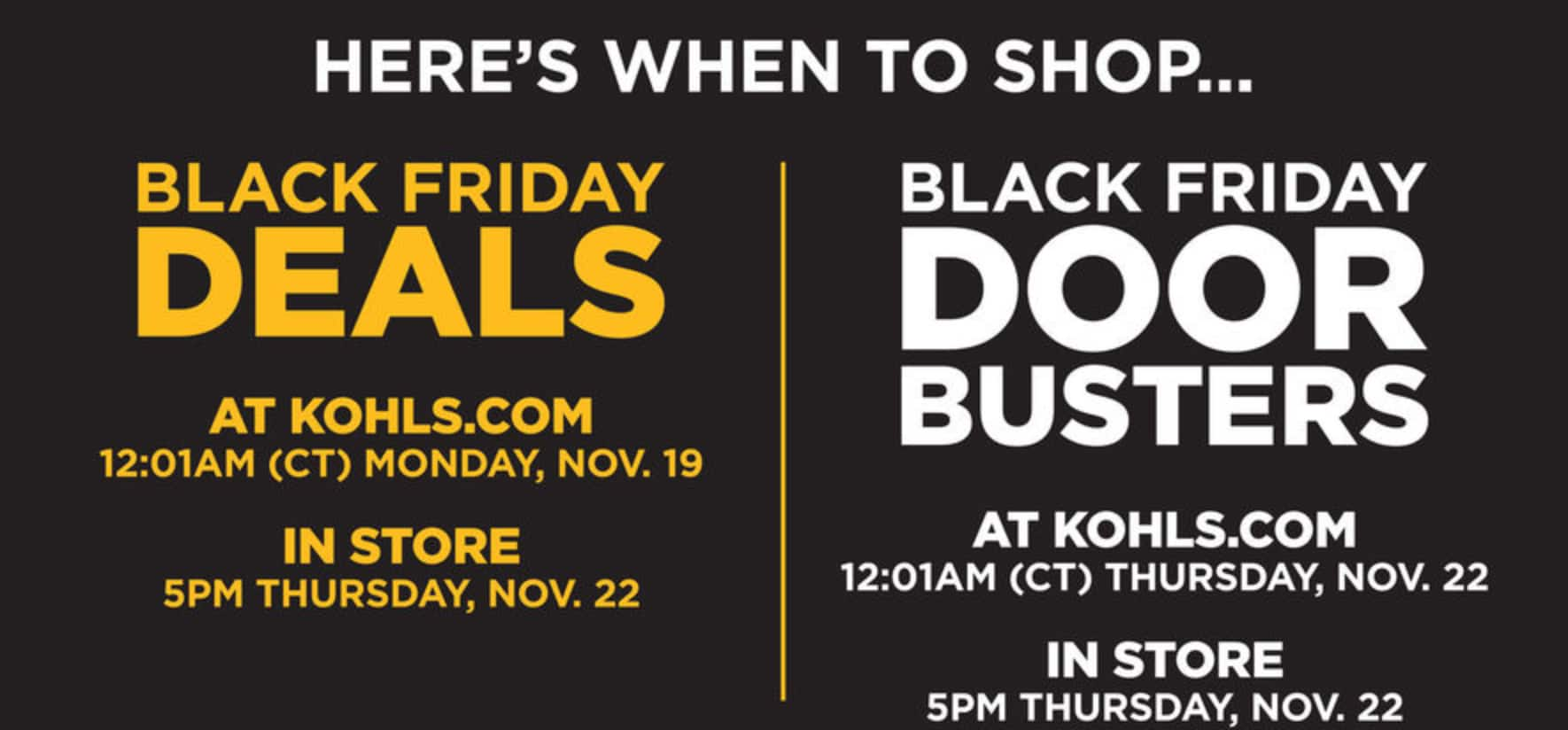 19882d2972b7 The Kohl s Black Friday Ad Is Here and These Are the Best Deals