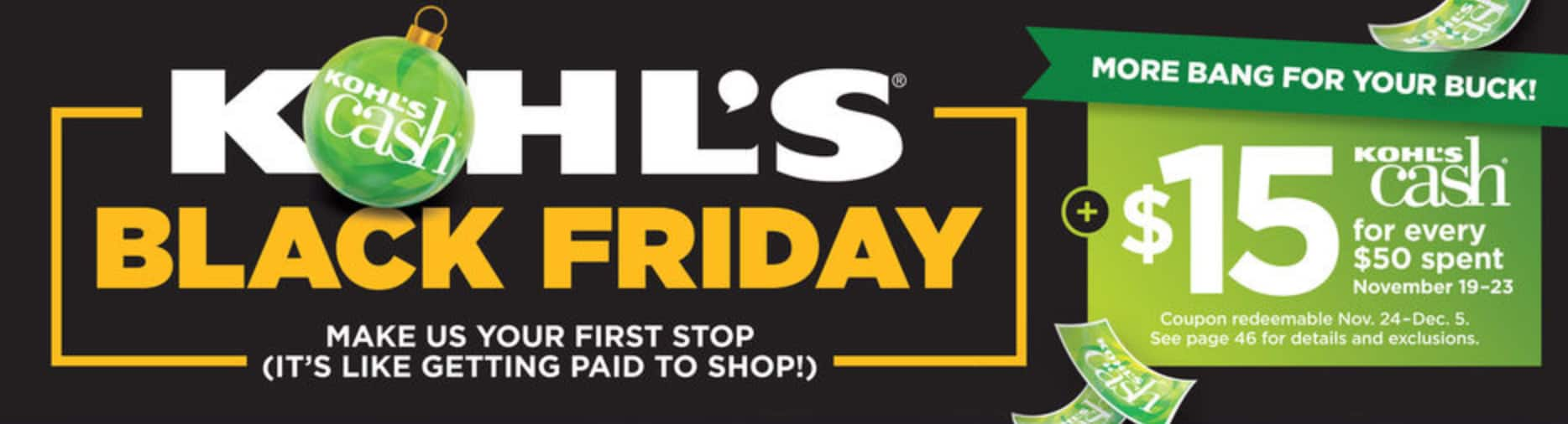 1cb2a2b79da The Kohl's Black Friday Ad Is Here and These Are the Best Deals