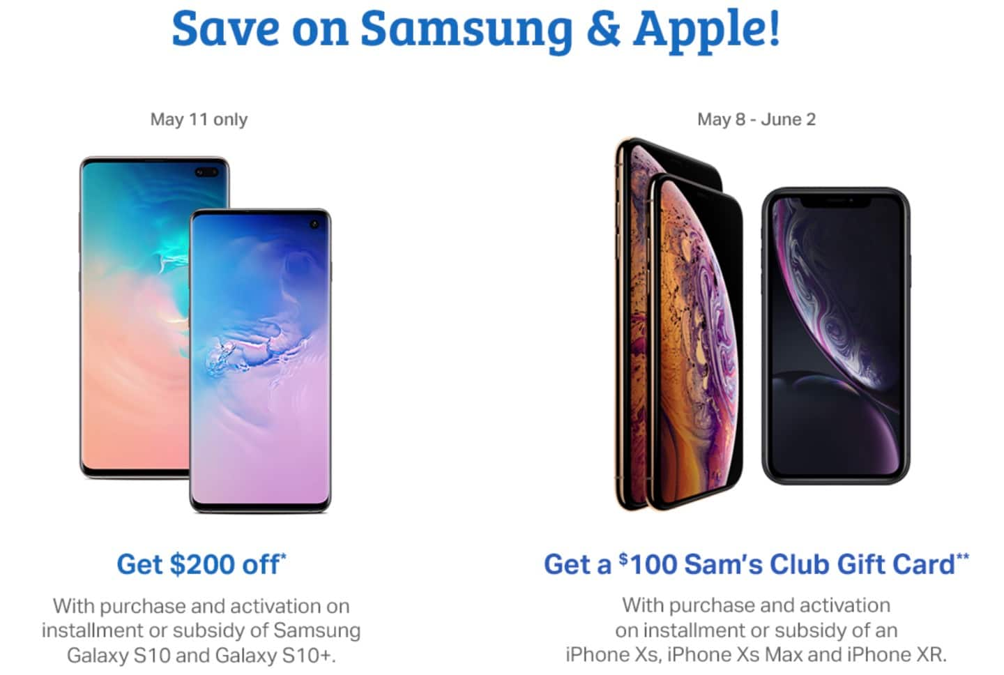 f6db79e14 The Most Valuable Discounts at the Sam's Club One-Day Sale