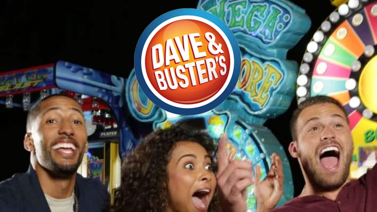 dave and busters date night
