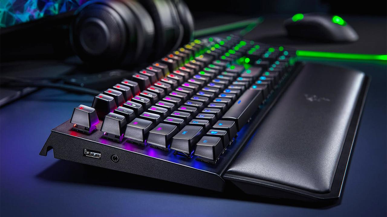 Razer Blackwidow Elite Mechanical Gaming Keyboard Review