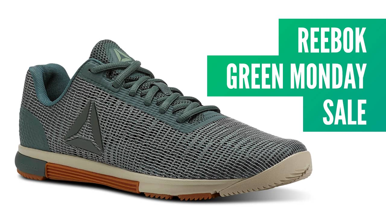846c74bd6bf048 This Promo Code Offers up to 50% Off at the Reebok Green Monday Sale